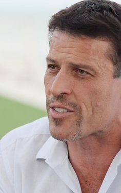 """Tony Robbins On Hunger, Disappointment, And 3-D Printing. """"Most people start out life with hunger and they lose it."""""""