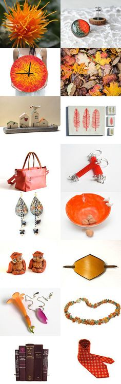 And i think to myself orange in the best !  by Elinor Levin on Etsy--Pinned with TreasuryPin.com