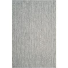 Courtyard Gray/Navy (Gray/Blue) 5 ft. 3 in. x 7 ft. 7 in. Indoor/Outdoor Area Rug