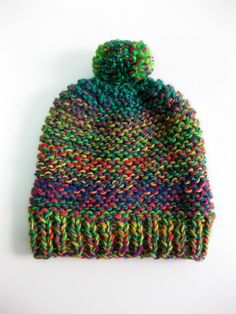 Baby Hats Knitting, Knitting For Kids, Loom Knitting, Knitted Hats, Crochet Blanket Patterns, Crochet Stitches, Knitting Patterns, Knitting Accessories, Yarn Crafts