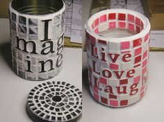 50 Extremely Ingenious Crafts and DIY Projects That Are Recycling, Repurposing & Upcycling Tin Cans Tin Can Crafts, Crafts To Do, Crafts With Tin Cans, Soup Can Crafts, Coffee Can Crafts, Diy Projects To Try, Craft Projects, Project Ideas, Craft Ideas