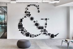 "11.8k Likes, 70 Comments - Design Milk (@designmilk) on Instagram: ""Objects as #art: @mmoserassociates created this #ampersand #wallart for @saatchiandsaatchi's…"""