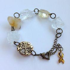 ENDO AWARENESS BRACELET Citrine Bracelet