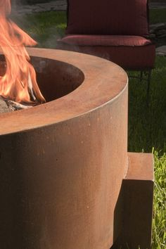 965 Tuscan Round Fire Pit (2) - Sharp Engineering