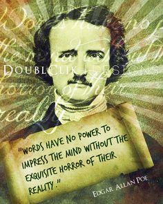 16x20 Edgar Allen Poe Poster