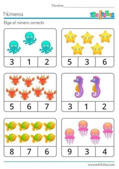 Preschool Writing, Numbers Preschool, Kindergarten Math Worksheets, Preschool Learning Activities, Math For Kids, Barn, Printable Worksheets, Kids Worksheets, Free Images