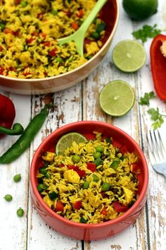 Discover recipes, home ideas, style inspiration and other ideas to try. Plats Weight Watchers, Nicoise Salad, Salty Foods, Rice Salad, Fried Rice, Barbecue, Veggies, Indian, Cooking