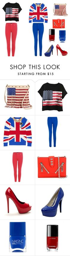 """""""Untitled #157"""" by melina-231 ❤ liked on Polyvore featuring Twig & Arrow, Chicnova Fashion, Gucci, J Brand, Citizens of Humanity, Kenzo, Qupid and Chanel"""