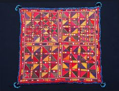 An exceptional example of an antique Hazar Tribe  silk embroidered from Ghazni region of Afghanistan 18/19th century.