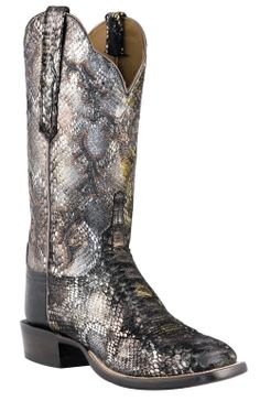 Lucchese Boot Co. - Python boots.  NICE!