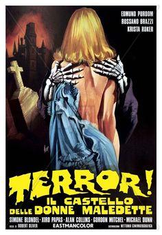 Frankenstein's Castle of Freaks (1974) via Italy