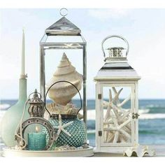 36 Breezy Beach Inspired DIY Home Decorating Ideas ❤ liked on Polyvore featuring backgrounds, photos, home, pictures, summer and filler