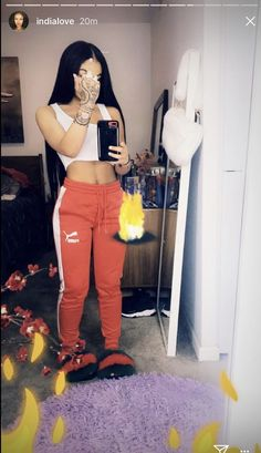 Look at more ideas about Design and style outfits, Loot outfits and Woman style. Cute Swag Outfits, Chill Outfits, Dope Outfits, Trendy Outfits, Summer Outfits, Black Girl Fashion, Teen Fashion, Fashion Outfits, Urban Fashion