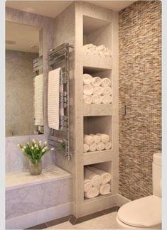 ✔ Echo er Christine's Bathroom Towel/Personal Things/Toiletries/Cleaning Supply Storage.