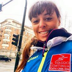 Tra poco tocca a me! Sono in corso Tassoni diretta in piazza Bernini! TEDOFORA! #ilviaggiocontinua 10 anni dalle Olimpiadi Invernali di Torino la nostra città è sempre più bella! #olimpiadi2006 #torino2006 #torino2016