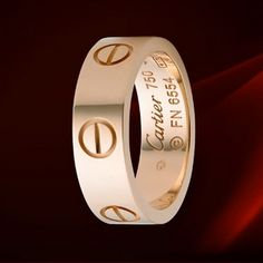 Cartier Pink Gold Love Ring  Oh...I need this!