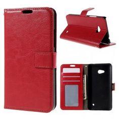 Lumia 640 punainen puhelinlompakko.