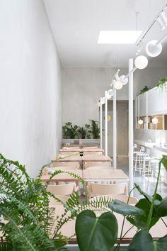 Biasol creates Melbourne cafe interior based on 1950s Greek delicatessens