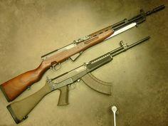 SKS guns  http://sksdepot.com/blog