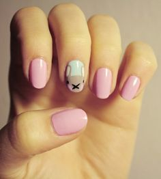 bunny nail