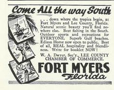 Old Florida, Vintage Florida, State Of Florida, Fort Myers Florida, Old Fort, Historical Artifacts, Black And White Illustration, Best Fishing, All The Way