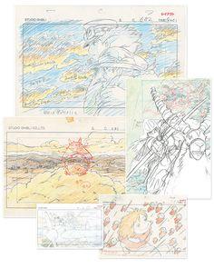 """Une exposition animée : """"Dessins du Studio Ghibli, les secrets du Layout pour comprendre l'animation de Takahata & Miyazaki"""" au Musée de l'Art Ludique"""