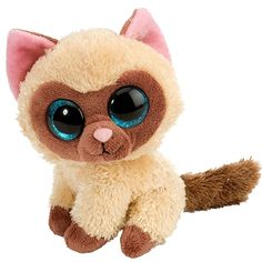 Mocha the Lil Sweet and Sassy Stuffed Siamese Cat by Wild Republic