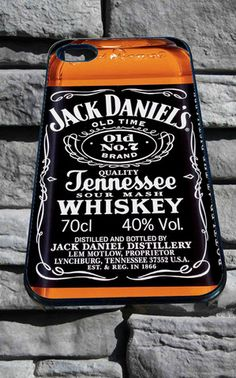 Whiskey Jack Daniels for iPhone 4/4s/5/5S/5C/6, Samsung S3/S4/S5 Unique Case *95* - PHONECASELOVE