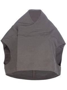 RICK OWENS Sleeveless Cape Jacket