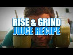 Rise & Grind - Juice Recipe  drew canole  https://www.facebook.com/VegetableJuicing