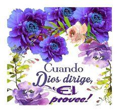 Cuando Dios dirige, El provee!!!