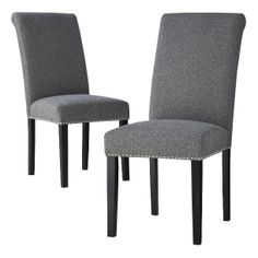 Avington Dining Chair with Nailheads - Set of 2. $219