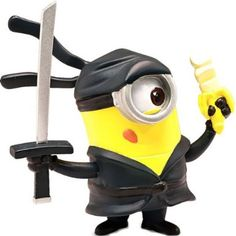Despicable Me 2 – Minion Ninja at http://www.minionsfans.com/despicable-me-2-minion-ninja/