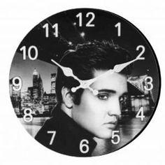 Buy Elvis Presley Portrait Clock by Lowumia