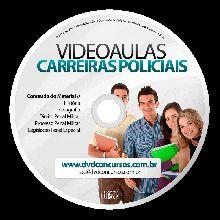 VIDEOAULAS CARREIRAS POLICIAIS TEORICO 3 DVDS