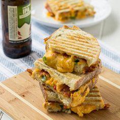 Pimiento Cheese Panini - #Food #Recipe