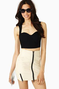 Nasty Gal Rendezvous Bustier  Size small  Going out tops