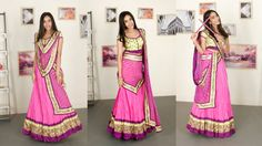 6 Gorgeous New Ways To Drape Your Lehenga Dupatta