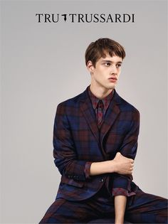 Preview: Sylvester Ulv for Tru #Trussardi Fall/Winter 2014 Campaign.