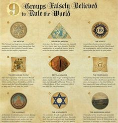 Illuminati ~ Many people believe that one or more of these groups are controlling the world. I look at that list and think, those 'groups' are just a shiny distraction diverting our attention from who is really in control. (Corporations run the world, not governments)