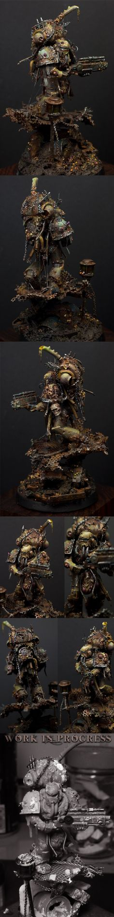 W40K - The Wayfarer / Nurgle Death Guard Fallen (by jarhead)