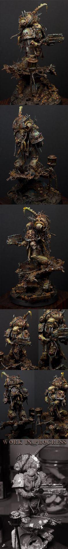 W40K - The Wayfarer / Nurgle Death Guard Fallen (by jarhead)
