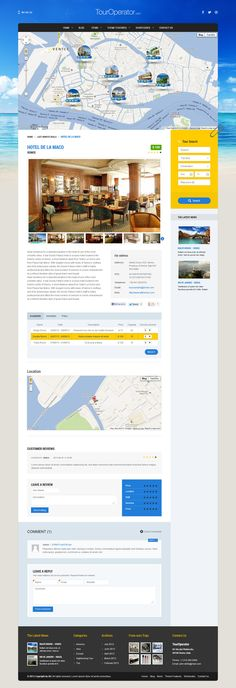 Wordpress Theme for tour operator agency, hotel resorts, guest house, BedAndBreakfasts and all type of businesses hat require reservations.