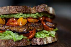 TLT Sandwich - A vegetarian sandwich