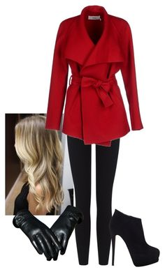 """""""Pretty Little Liars """"Red Coat"""" outfit"""" by crln123 ❤ liked on Polyvore"""