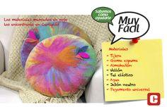 Llena de colores tu salón con unos alegres almohadones sobre goma espuma https://www.facebook.com/curtiplasgijon