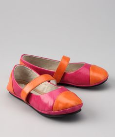 Orange Sorbet Flat - Kids | zulily