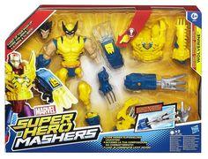 PRICE DROP Avengers 6-inch Super Hero Mashers Electronic Wolverine Figure £13.85