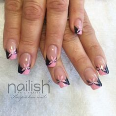 Cute Nail Designs For Spring – Your Beautiful Nails French Nail Art, French Nail Designs, Cute Nail Designs, Beautiful Nail Designs, Pink Nail Art, Gel Nail Art, Gel Nails, Stylish Nails, Trendy Nails
