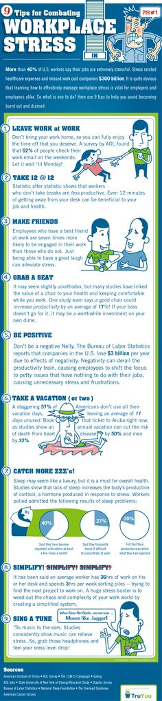9 Tips for Combating Workplace Stress